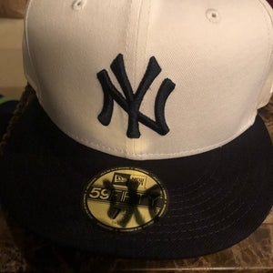 Brand New MLB New York Yankees New Era Hat White