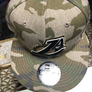 New era Los Angeles Lakers camo hat snap back