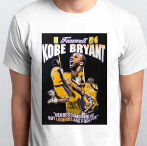 Men's Kobe Tribute Shirt -NBA Legend