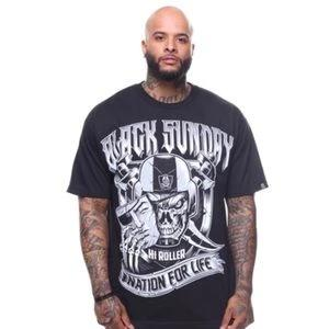 Men's Oakland Raiders Black Sunday Tee