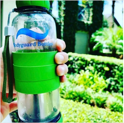 eco-friendly water purification bottle