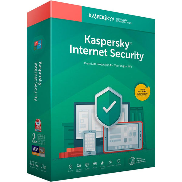Kaspersky Internet Security 2020 - 1 Device - 1 Year Subscription