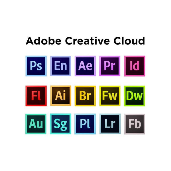 Adobe Creative Cloud All Apps 2020 1 Year Redeem Key