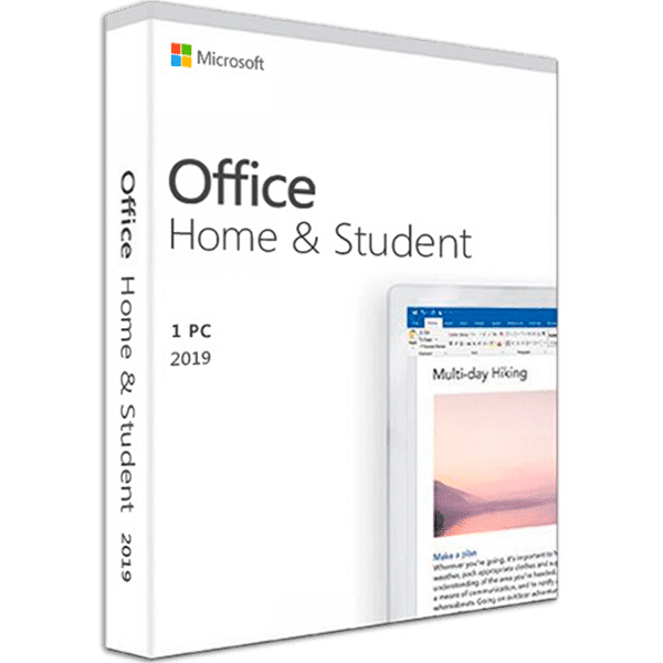 Microsoft Office 2019 Home & Student - 1PC - GLOBAL