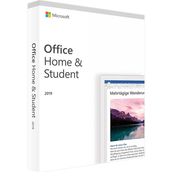 Microsoft Office - Home and Student 2019 - 1PC