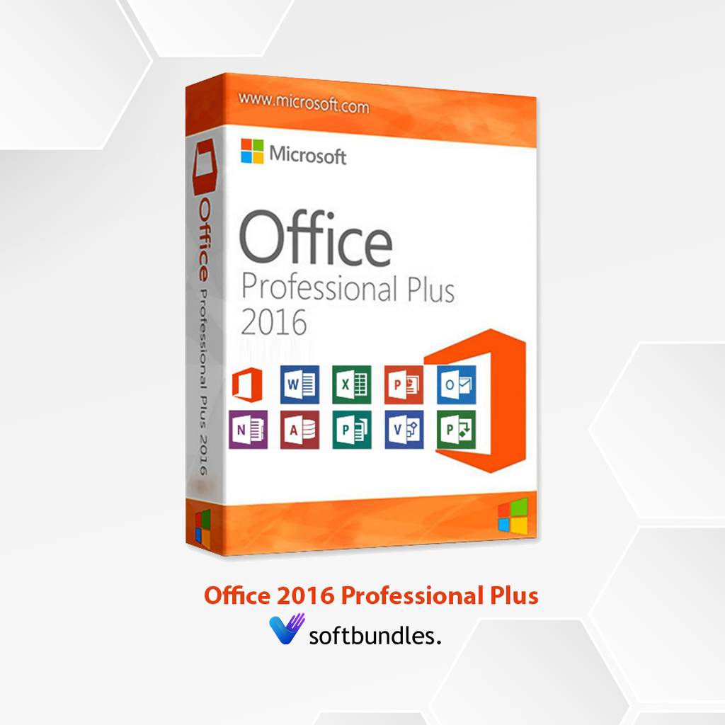 MICROSOFT OFFICE 2016 PROFESSIONAL PLUS - Lifetime License