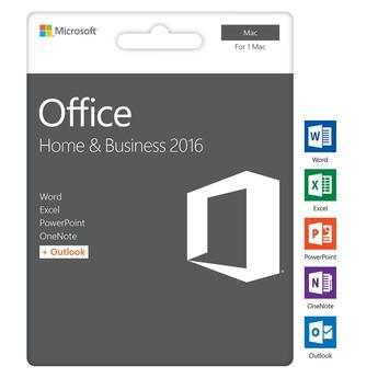 Microsoft Office 2016 - Home&Business MAC
