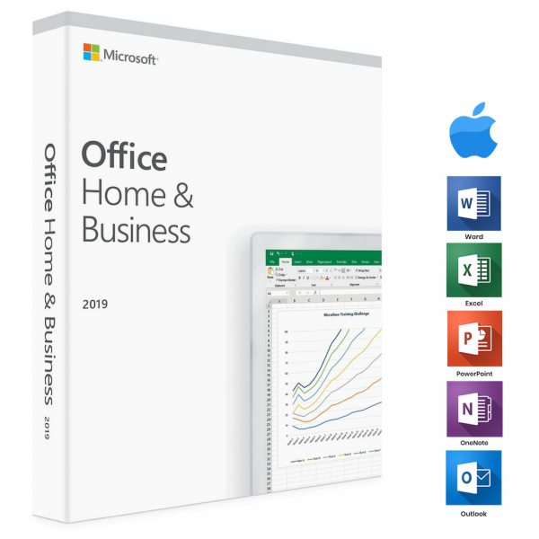 Microsoft Office 2019 Home&Business For Mac/PC