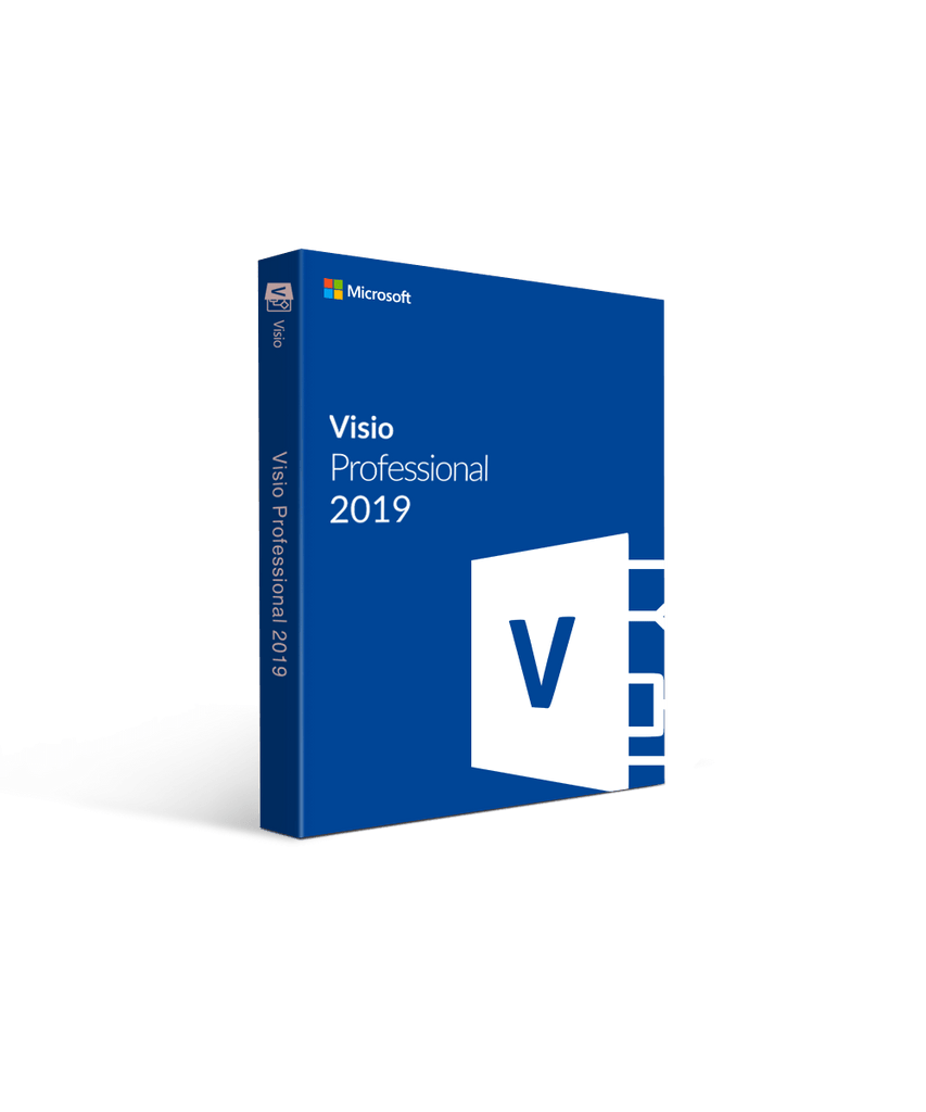 MICROSOFT VISIO PROFESSIONAL 2019 - LIFETIME LICENSE - ORIGINAL