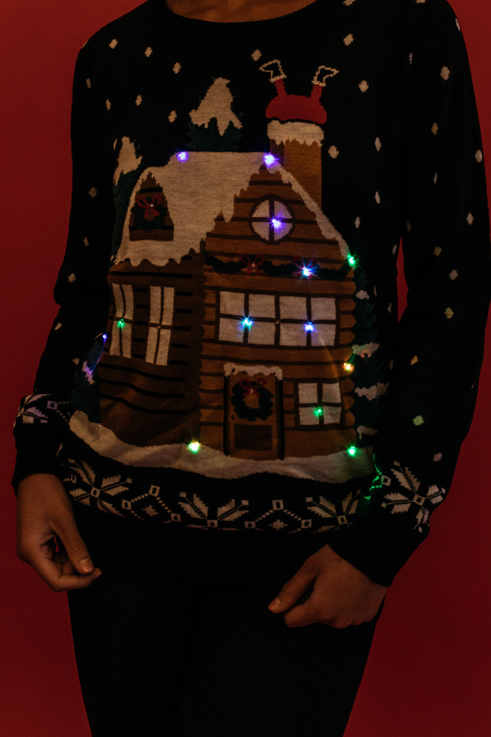 Light Show LED Sweater