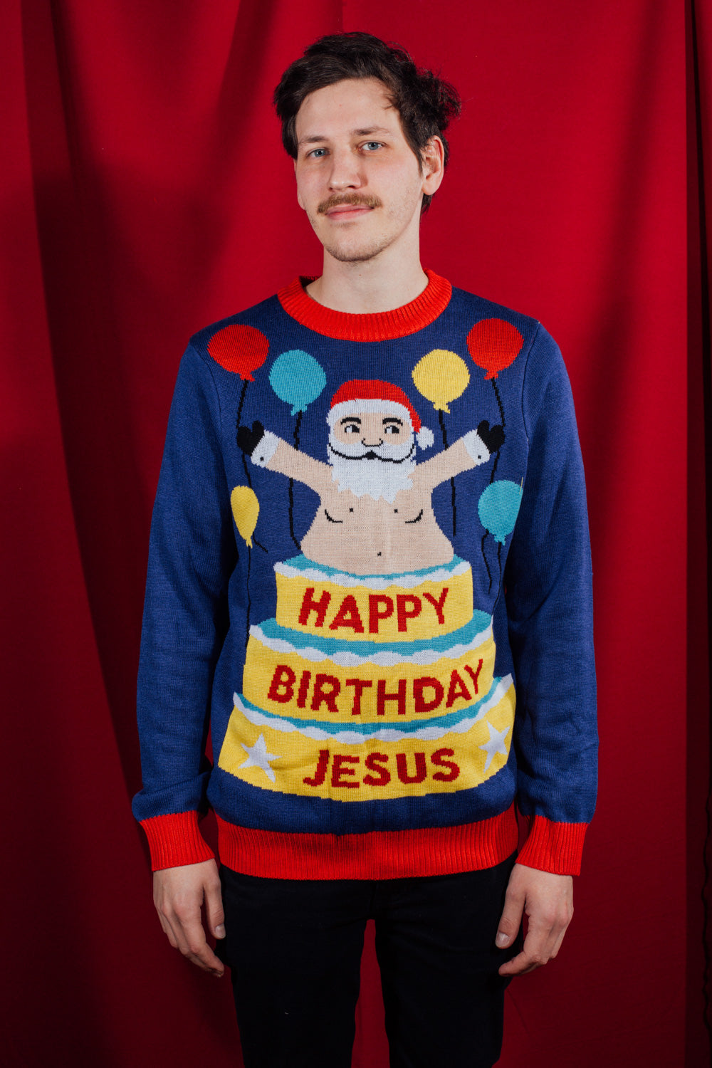 Birthday Surprise Sweater