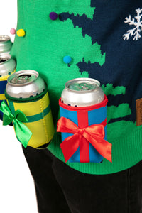 Christmas Tree with Beer Holsters Sweater
