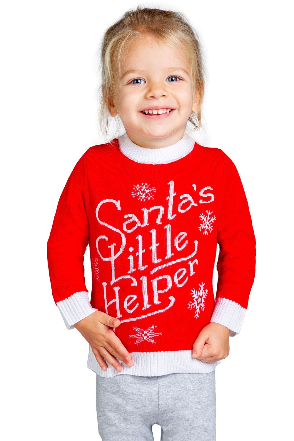 Santa's Little Helper Sweater