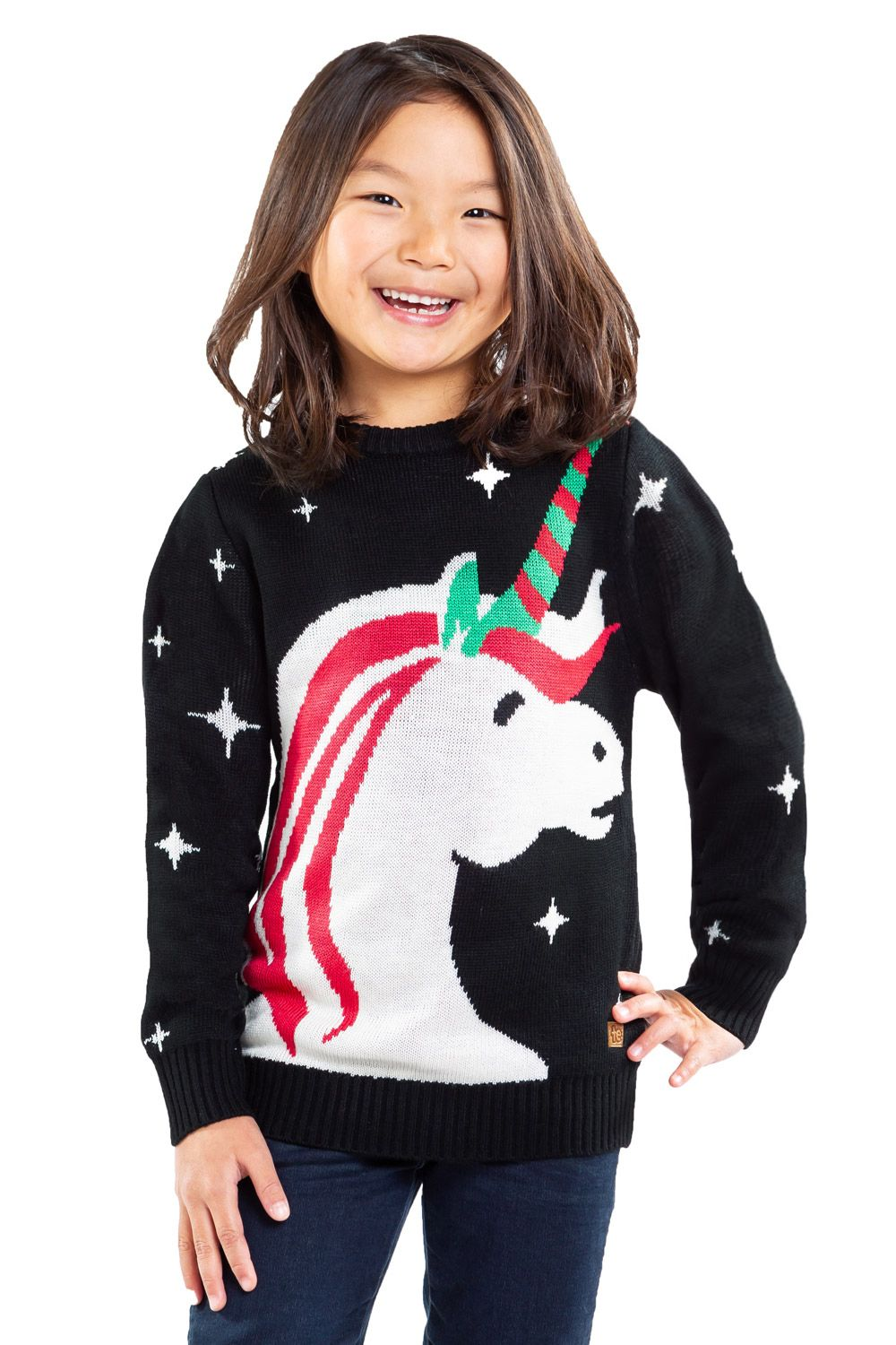 Girls Unicorn Sweater