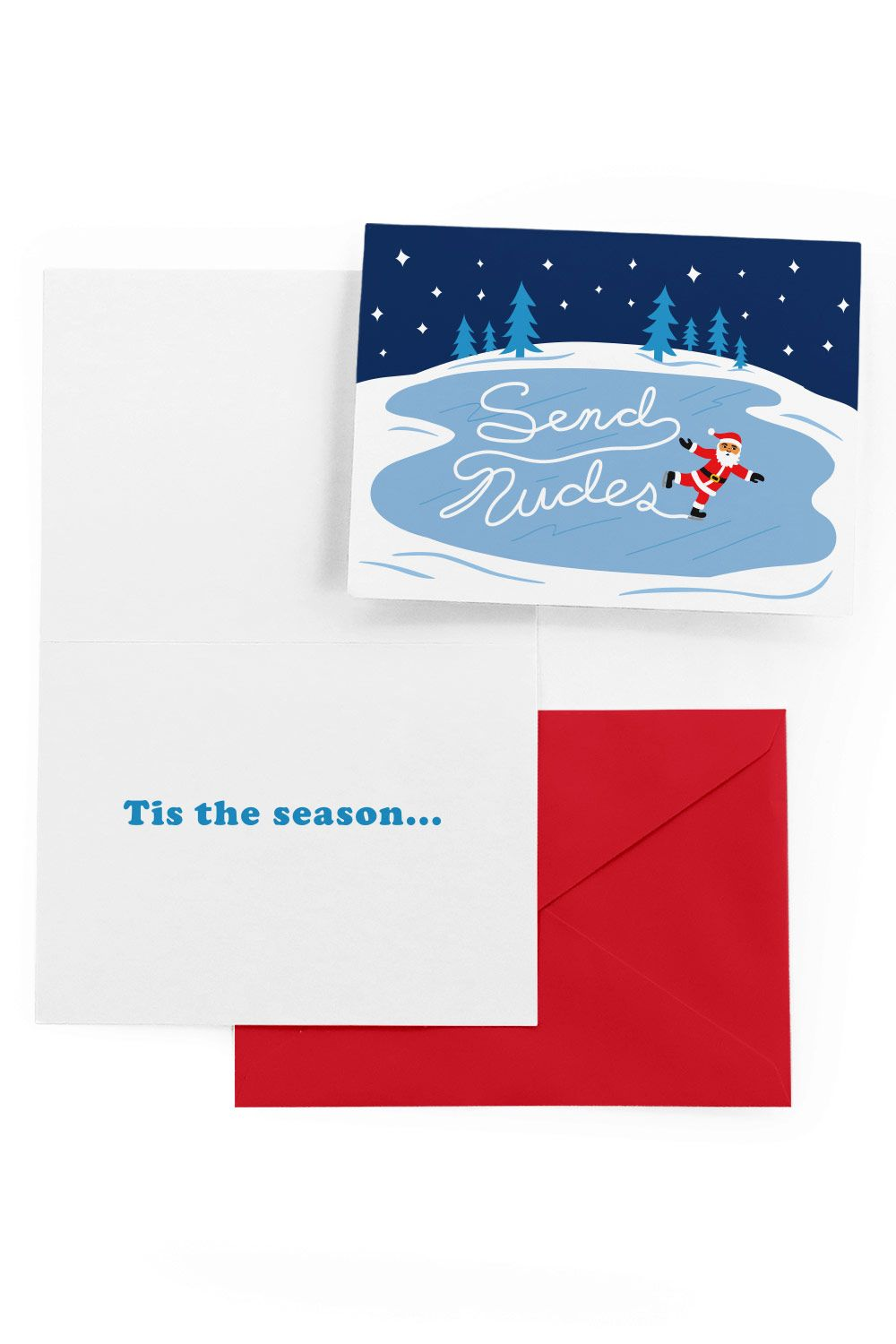 Send Nudes Christmas Card