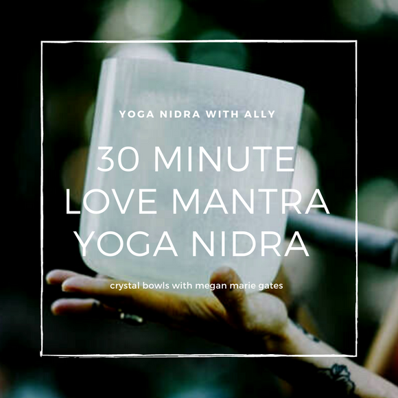 30-Minute Yoga Nidra with Singing Bowls - Ahem Prema