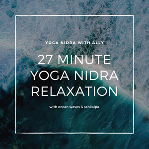Yoga Nidra Relaxation with Ocean Waves
