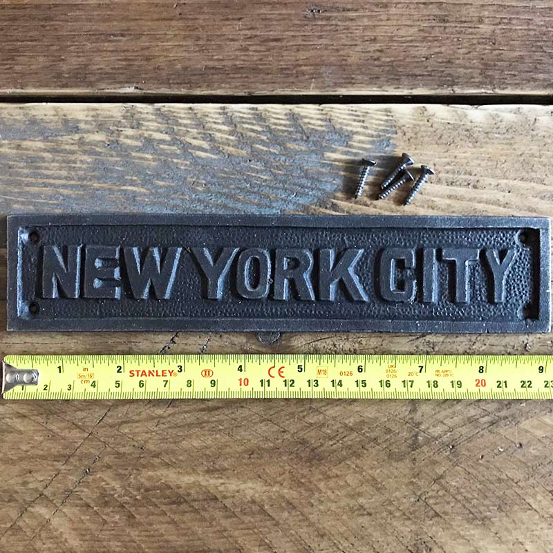 New York City | Wall Plaques