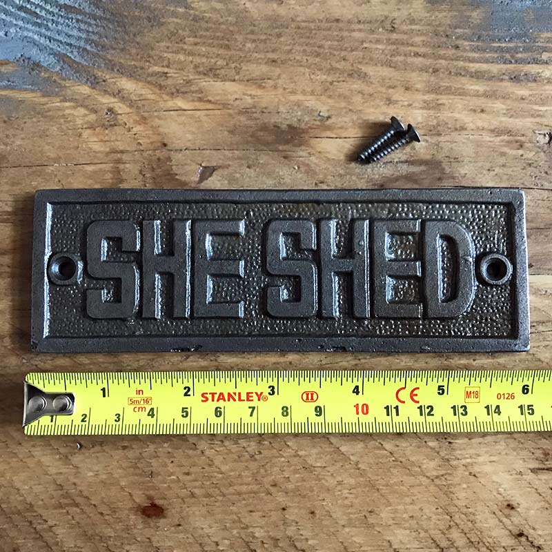 She Shed | Garden Signs
