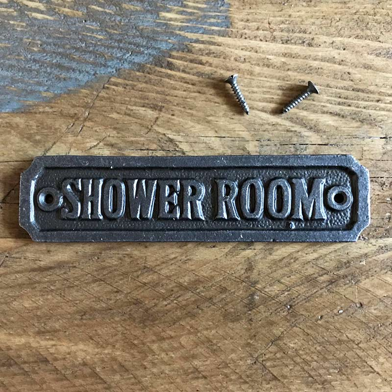 Shower Room | Door Signs