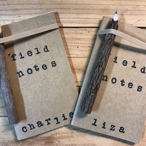 Custom Notebooks made with Beech Tree Paper Kraft Notebooks