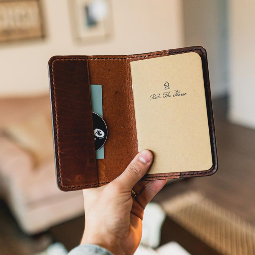 Do It Yourself–Custom Notebook with Rubber Stamp from Royal Priesthood Goods