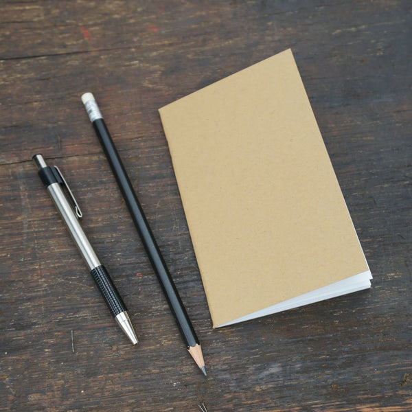 Kraft Bound Staple-Bound Notebook
