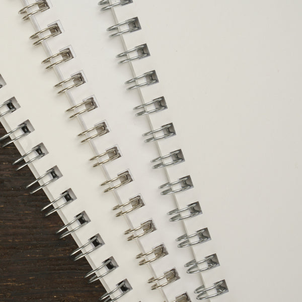 "Wire-Bound Notebook, 3.5 x 5.5"", Set of 10"