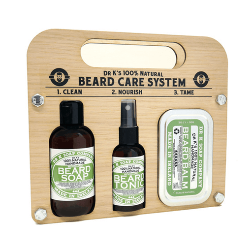 Dr K Soap | Beard Care System (Bois de santal) | Pomgo.ch