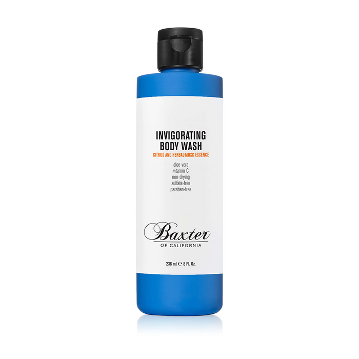 Baxter of Califorina | Gel Douche Revigorant (Citrus & Herbal Musk) - 236ml | Pomgo.ch