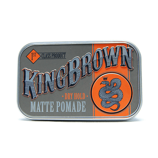 Kingbrown | Pommade Mate | Pomgo.ch