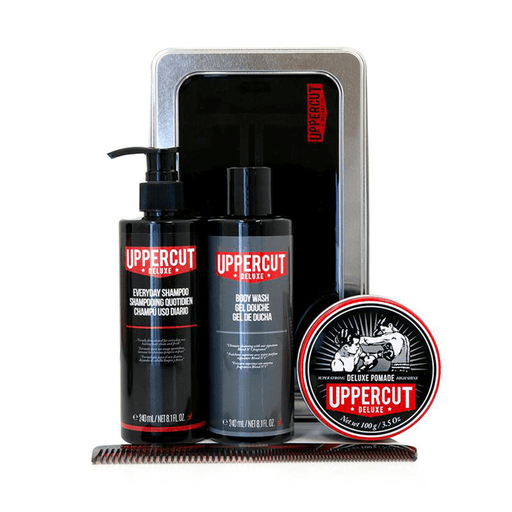 Uppercut Deluxe | Grooming Kit Deluxe Pomade | Pomgo.ch
