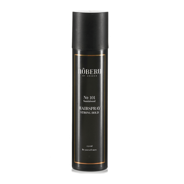Noberu of Sweden | Hairspray Strong Hold (Bois de santal) | Pomgo.ch