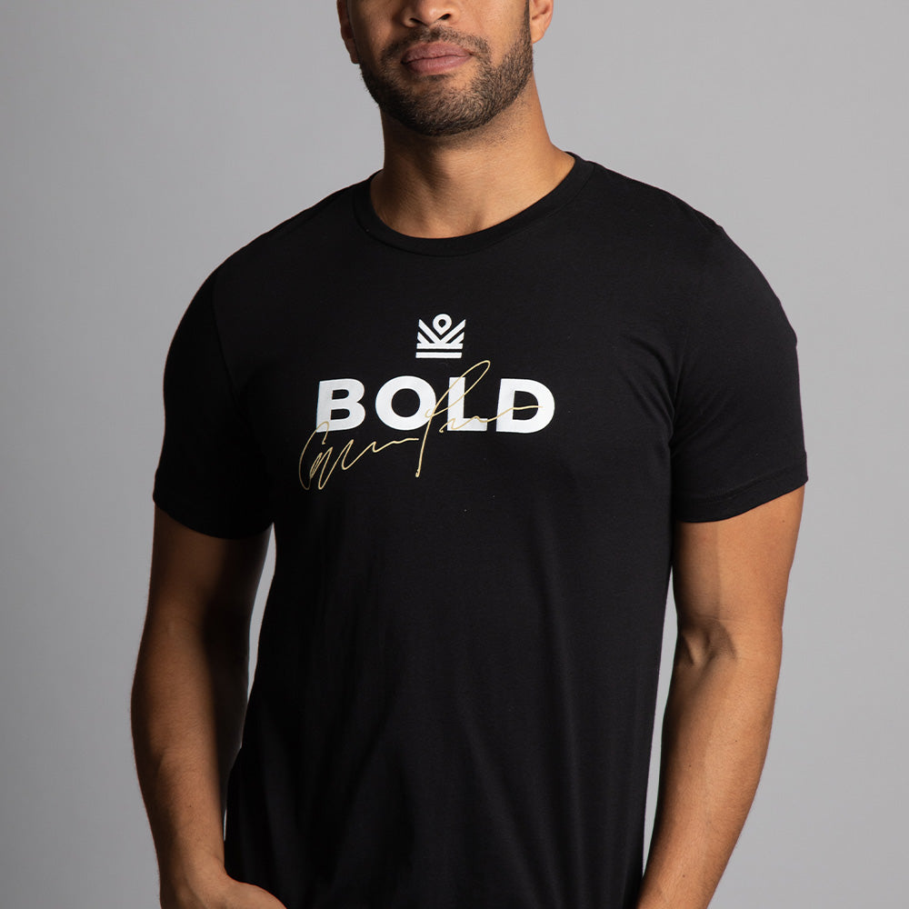 graphic tee </br> bold black