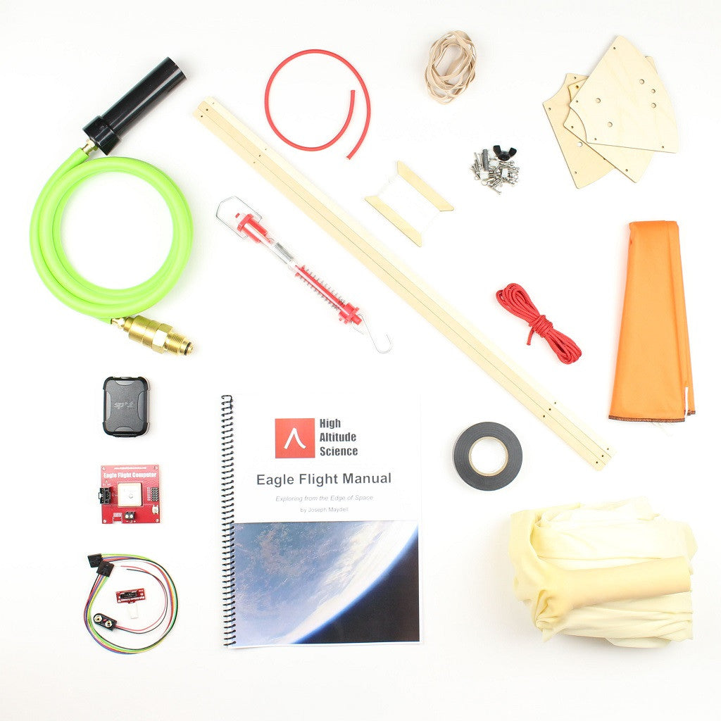 Eagle Pro Weather Balloon Kit – High Altitude Science