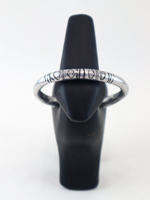 Load image into Gallery viewer, Silver Cuff Bracelet - Chrestelle