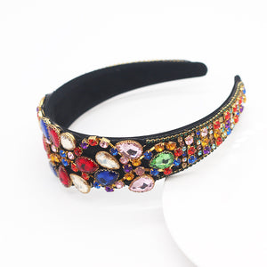 Load image into Gallery viewer, Addaya Luxury Crystal Headband - Chrestelle