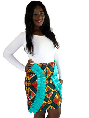 Simbi Frills Mini Skirt - Chrestelle