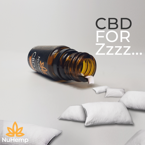 pillows coming out of a cbd oil bottle