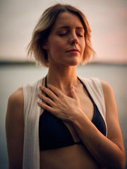Calming, mediation and breathing while setting intentions