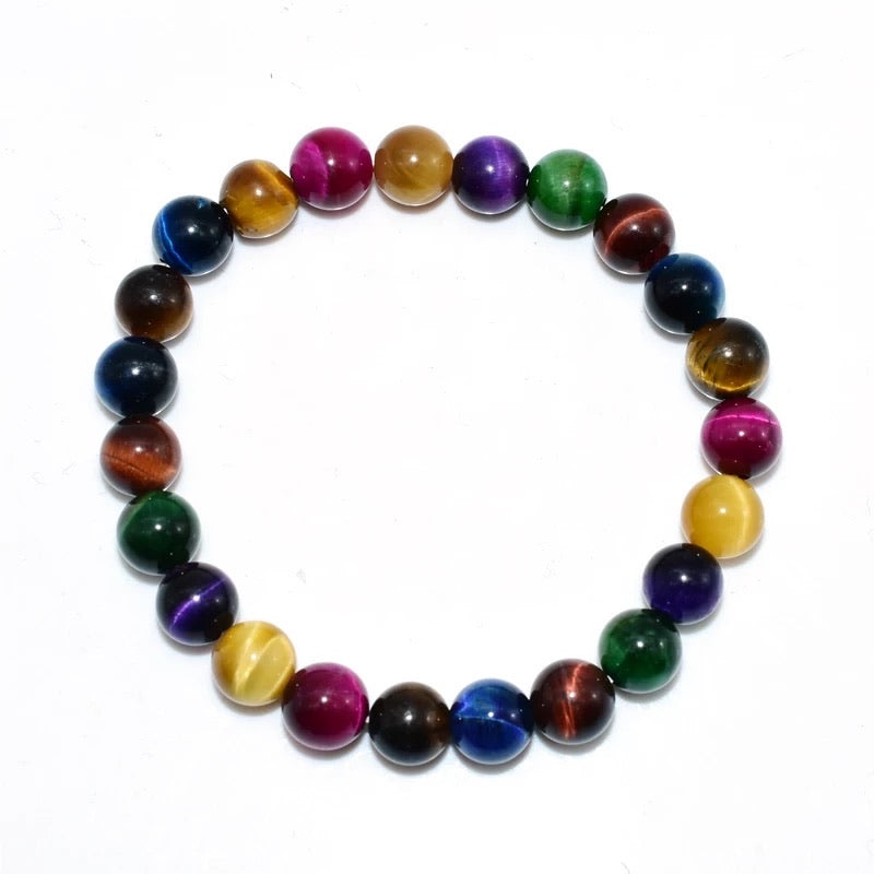 "The ""Uplift 1"" Golden Tiger Eye Bracelet (8MM & 10MM)"
