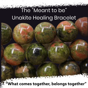 "The ""Meant to be"" Unakite Healing Bracelet (8MM & 10MM)"