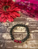 "The ""Success"" Diffuser Bracelet (Pink Tigers Eye) - The Magic Moon Garden"