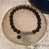 "The Lucky Tree of Life ""Protection"" Black Agate - The Magic Moon Garden"