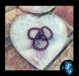 "Garnet ""Feel Good "" Energy Healing Rings - The Magic Moon Garden"