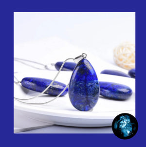 "The Blue ""Wisdom & Truth"" Lapis Lazuli Healing Pendant"