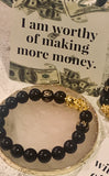 Pixiu Feng Shui Black Obsidian Wealth Bracelet (10MM & 12MM)Best Seller! - The Magic Moon Garden