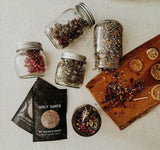 Holy Santo Witchcraft Herb Kit -20 Ritual Herbs with Crystal Spoon. - The Magic Moon Garden