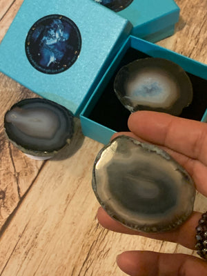 Agate Slice Pop-Socket - The Magic Moon Garden