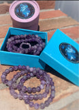 "The ""Cleansing"" Amethyst Bracelet (8 MM) - The Magic Moon Garden"